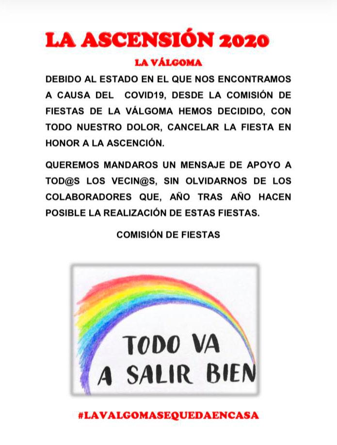 Magaz de Abajo y La Válgoma, anuncian la cancelación de sus fiestas patronales 3